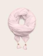 Pañuelo algodón orgánico detalle pompones - Ítem