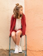 Chaqueta con capucha niña - Ítem1