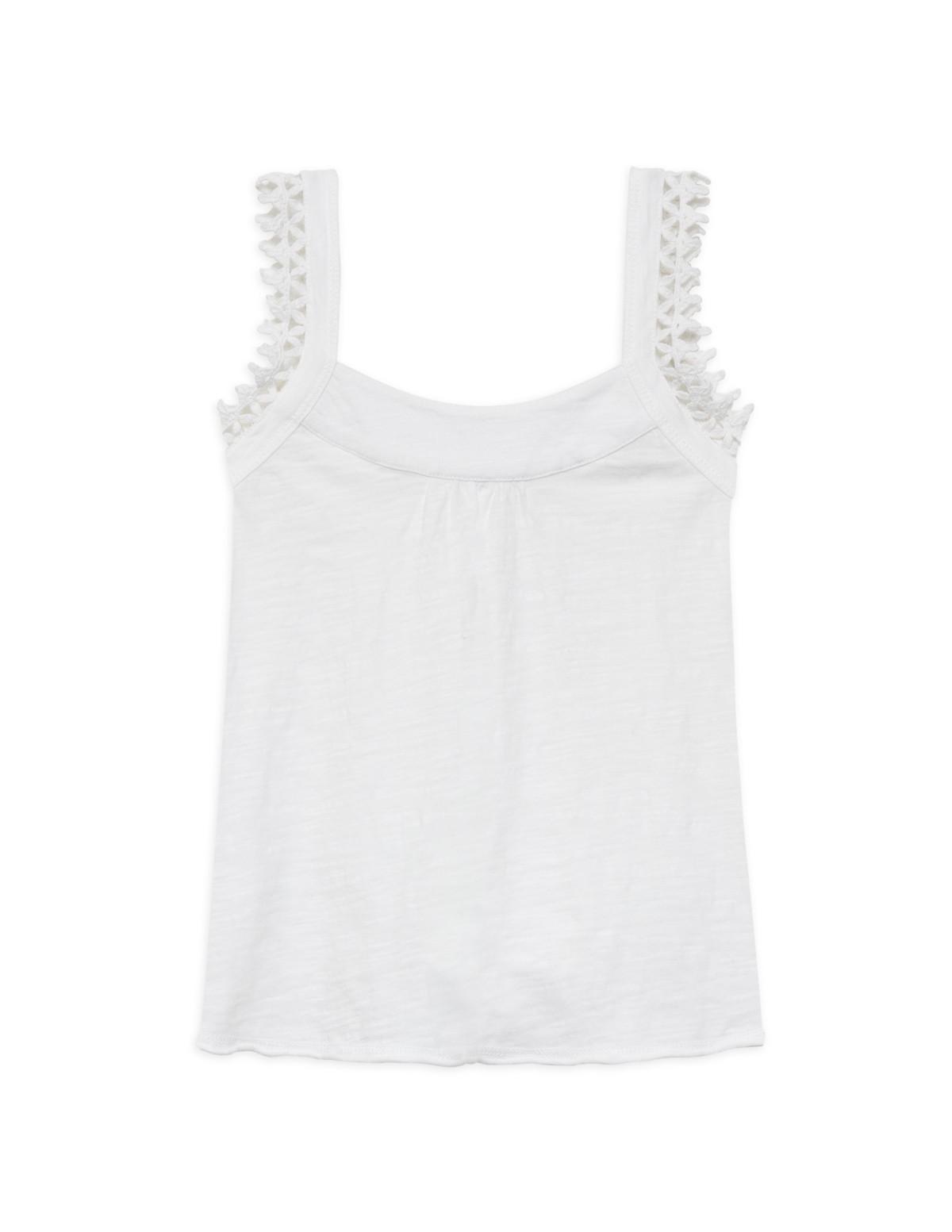 Camiseta tirantes algodón orgánico niña