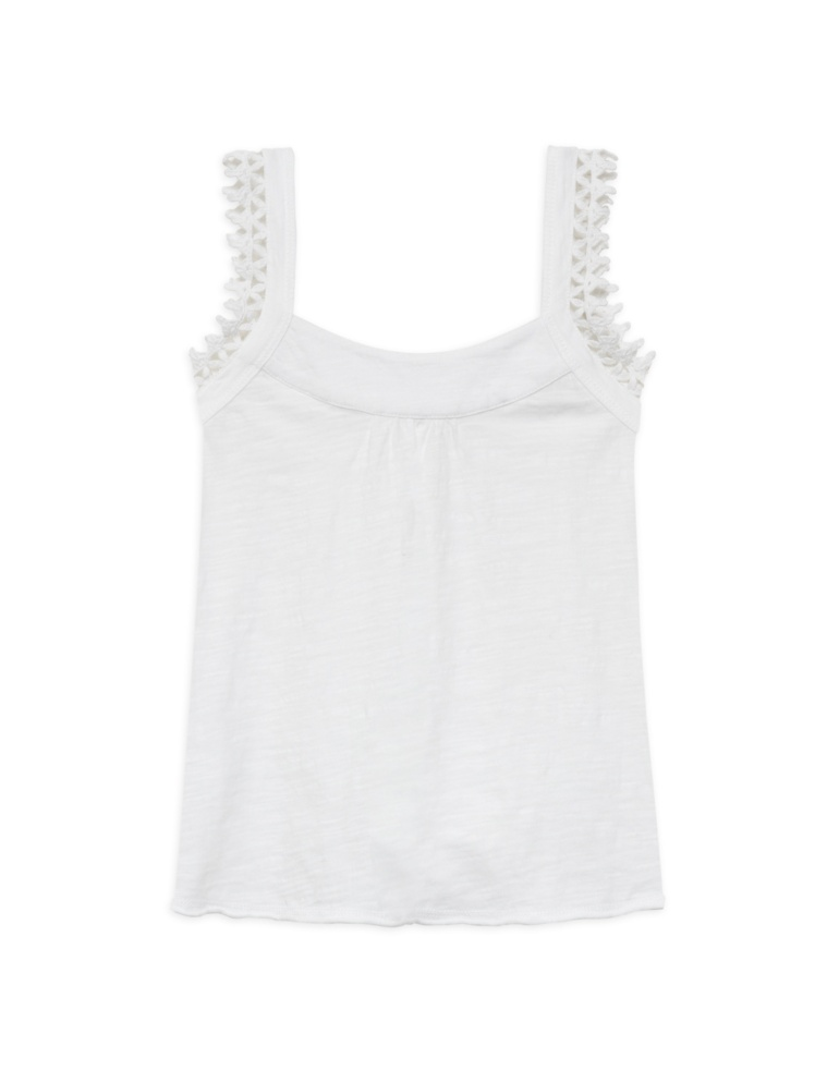 Organic cotton tank top for girls