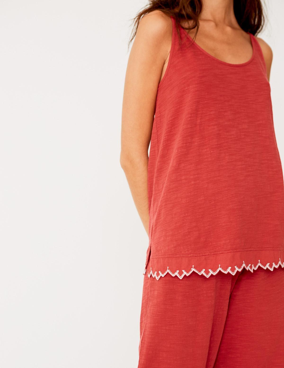 Camiseta puntilla bordada - Ítem2