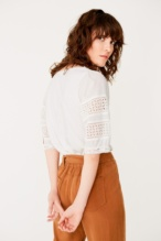 Lace edging detail top - Item2