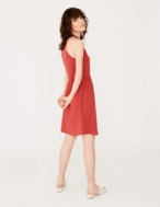 Sleeveless embroidered dress - Item2