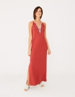 Long embroidered dress - Item