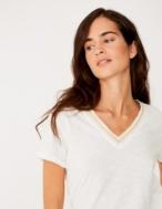 Camiseta cinta brillante - Ítem1