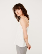 Tank top with shiny straps - Item1