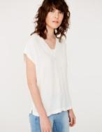 Camiseta tejidos combinados - Ítem