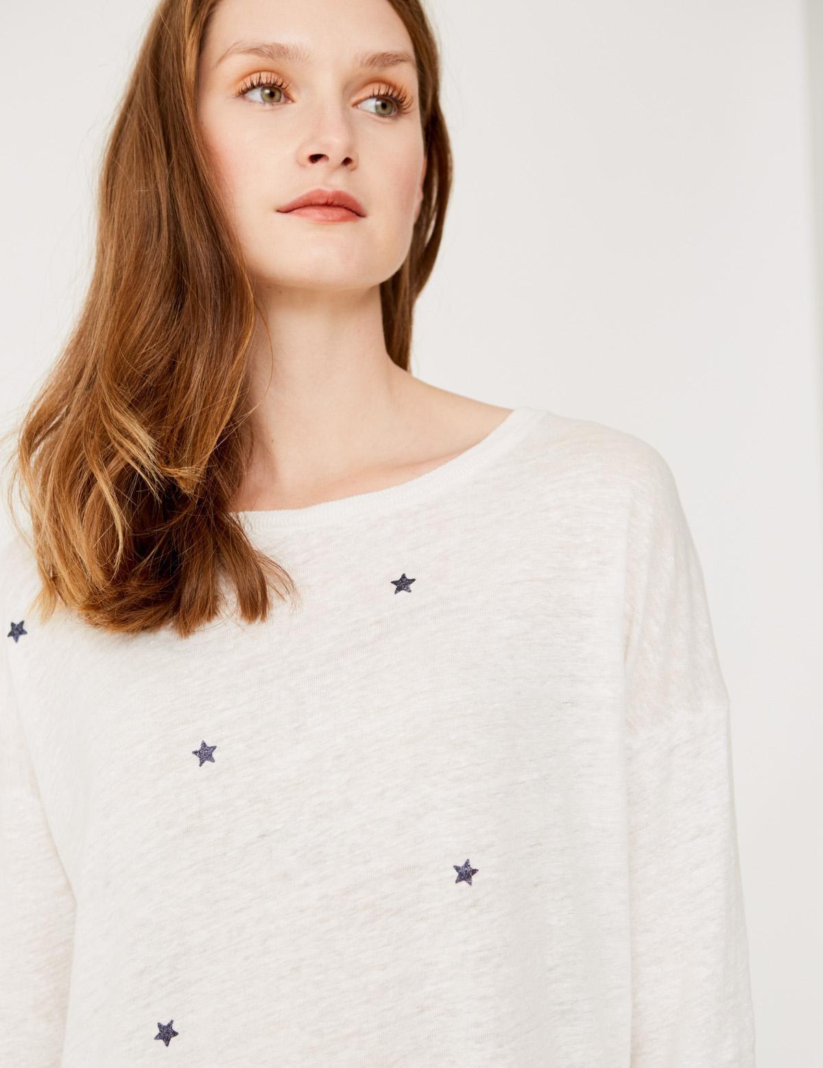 Camiseta estampado estrellas - Ítem1