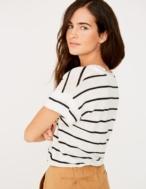 Camiseta de lino rayas - Ítem2