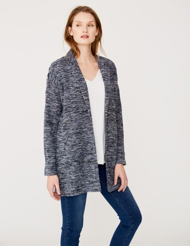 Jacquard detail jacket
