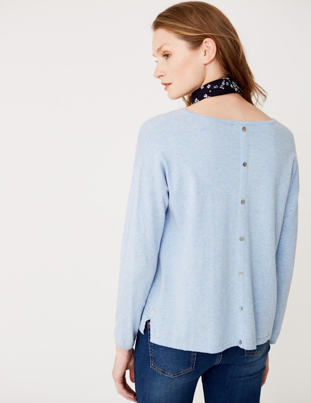 Jersey botones en espalda