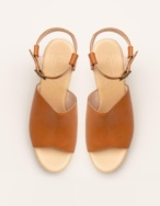 Leather and jute wedges - Item2