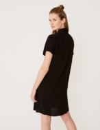 Flowing shirt-like dress - Item1