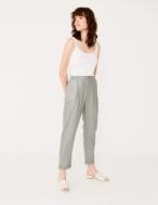 Pantalón lino metalizado - Ítem