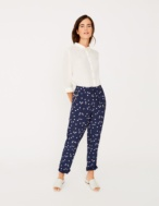 Flowing print trousers - Item