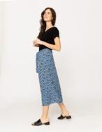 Midi flowing skirt - Item1