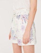 Printed shorts with belt - Item2