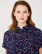 Camisa micro estampado flores - Ítem