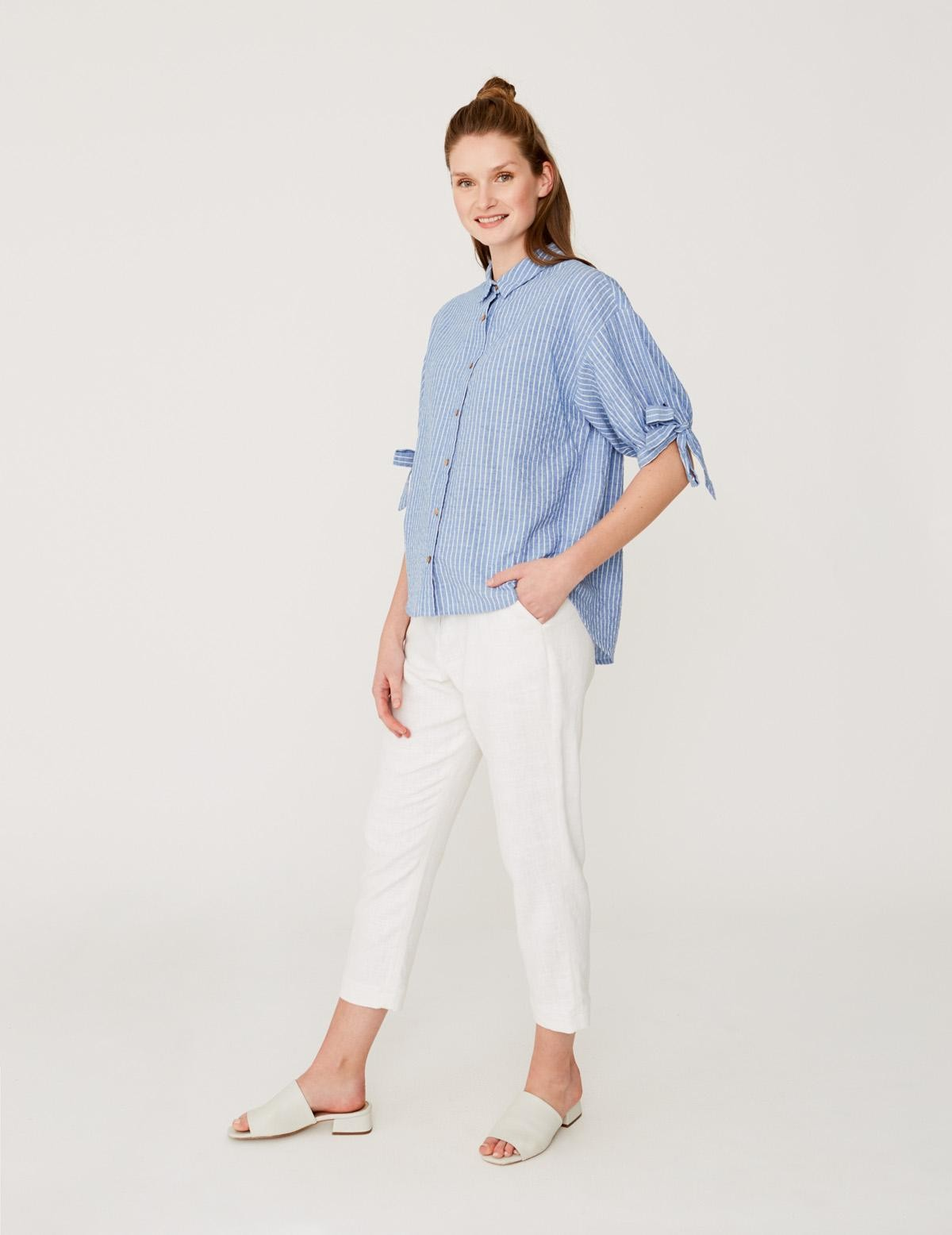 Puffed sleeved shirt - Item1