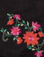 Embroidered foulard - Item1