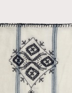 Embroidered detail foulard - Item1