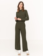 Ribbed cropped trousers - Item