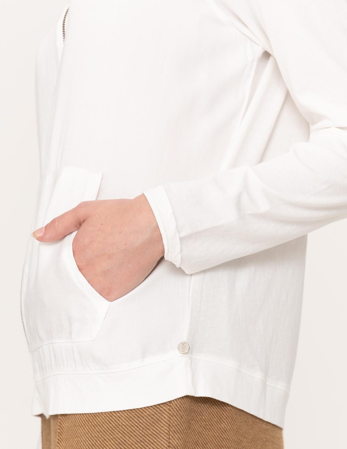 Chaqueta tejidos combinados - Ítem2