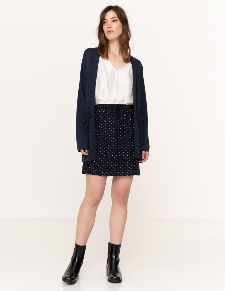 Short tiny moons skirt