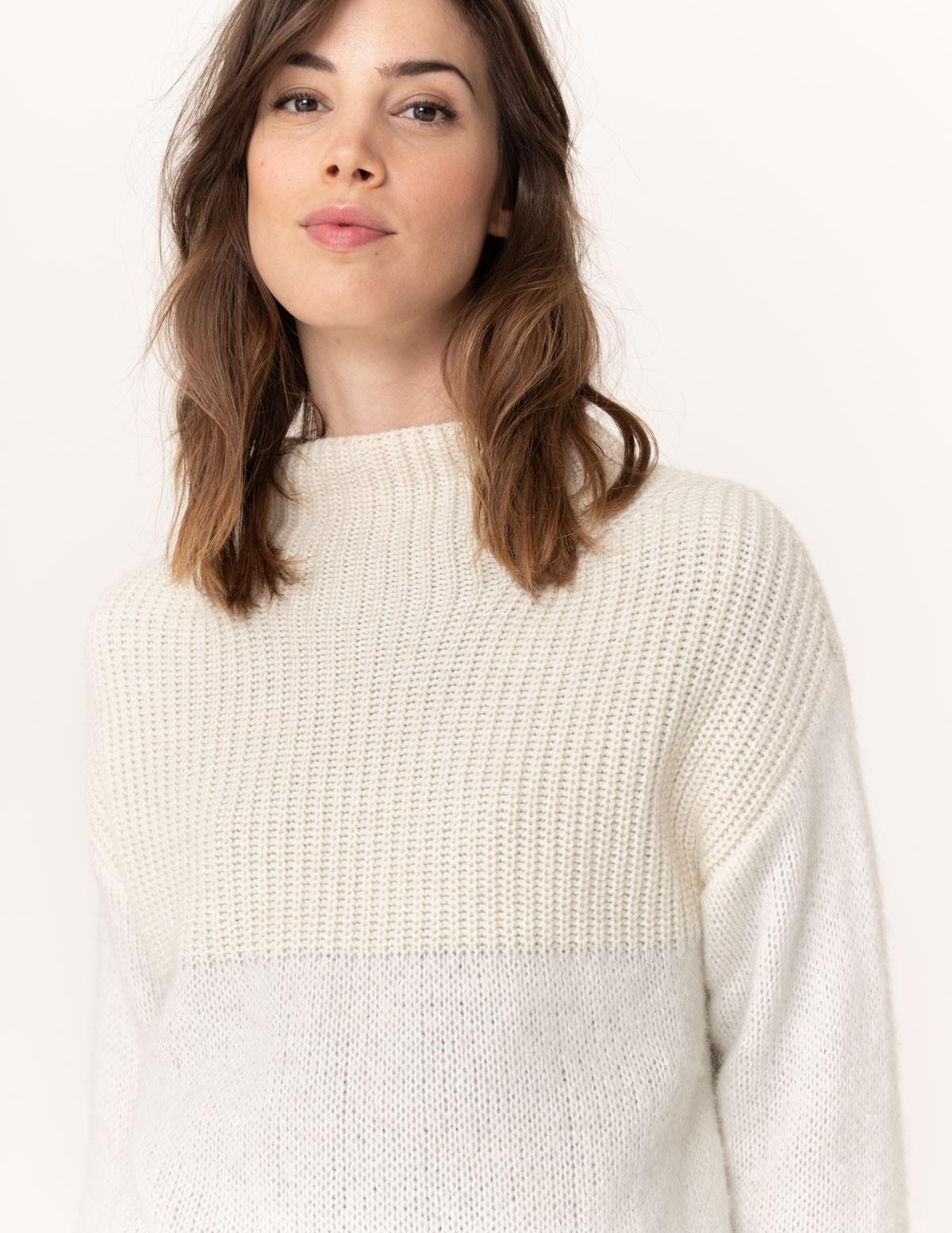 Jersey cuello chimenea