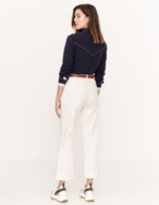 Cropped corduroy trousers - Item2