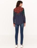 Camisa fluida patchwork - Ítem2
