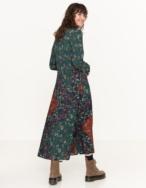 Vestido camisero patchwork - Ítem1