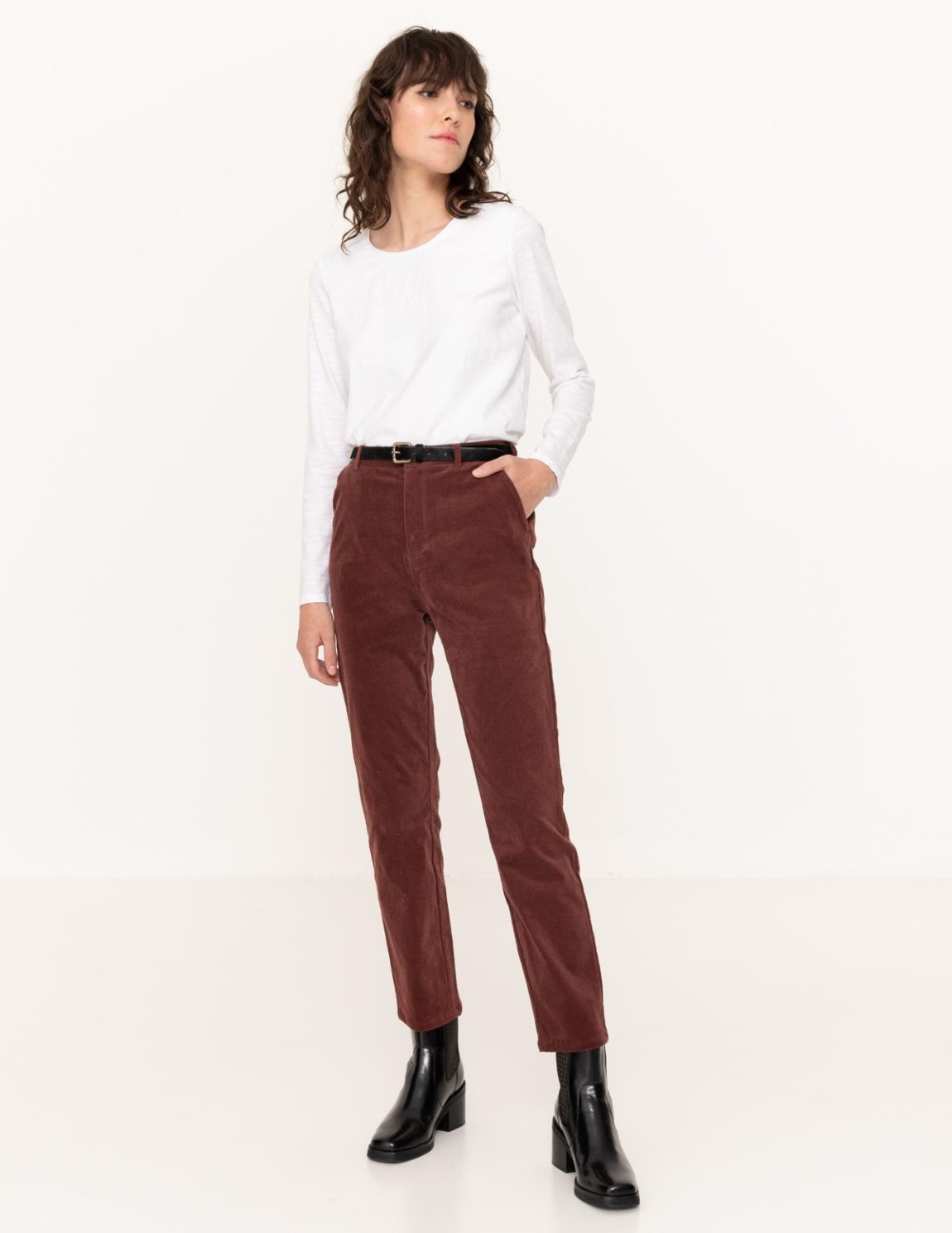 Brushed trousers - Item1