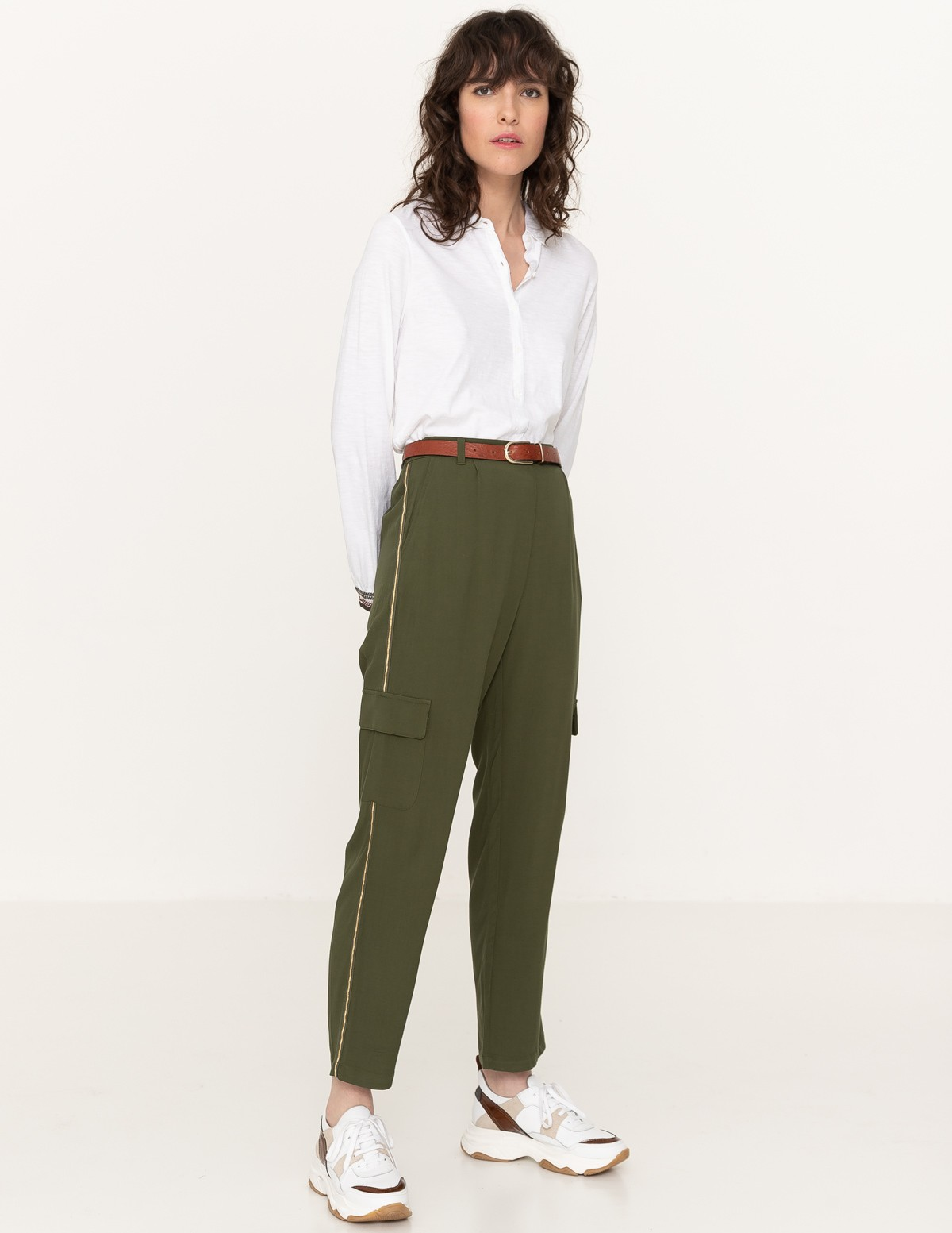 Flowy cargo trousers