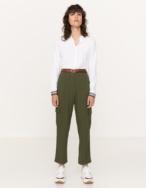 Flowy cargo trousers - Item1