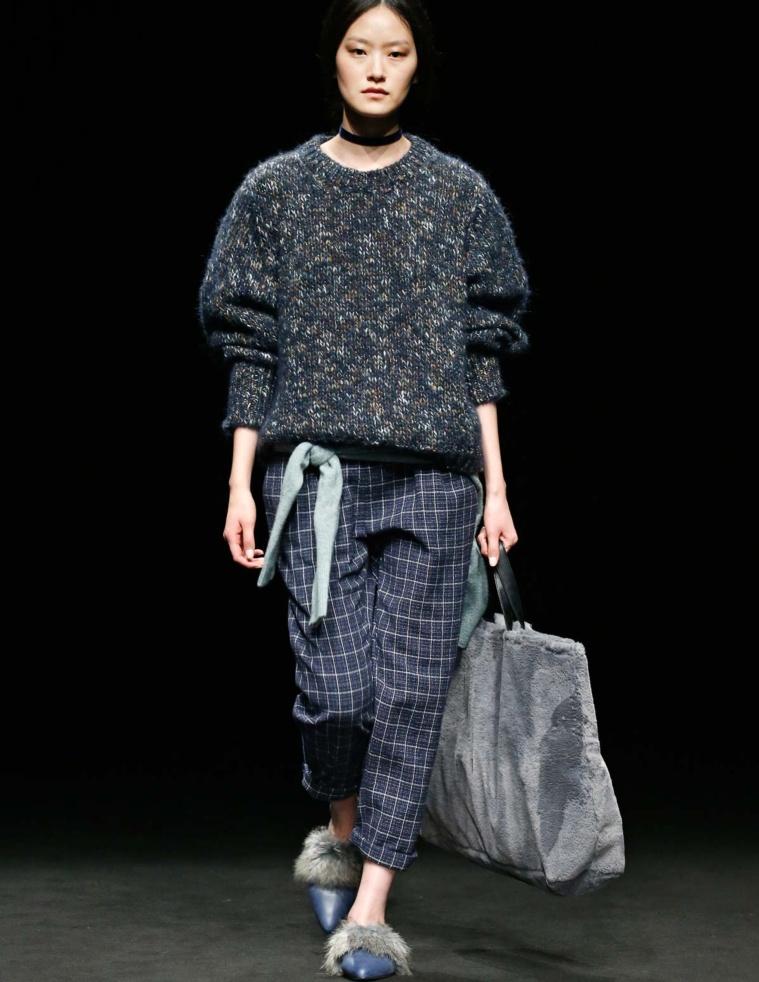 Maxi shopping bag pelo