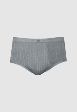 Pinstriped brief - plus size