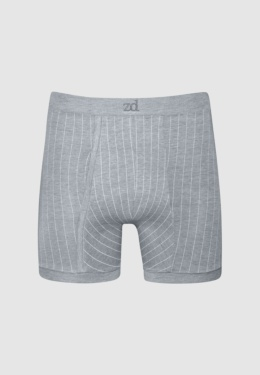 Pinstriped fly front boxer