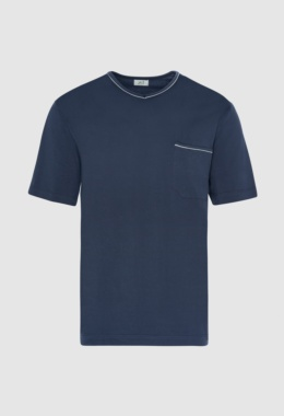 Camiseta pijama -marino