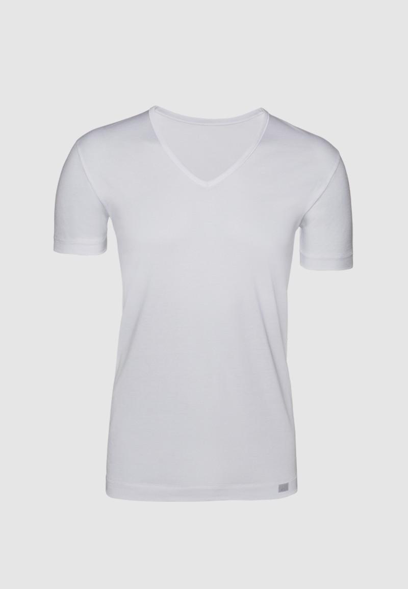 Camiseta pico Hilo de Escocia