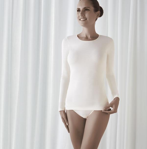 camsieta manga larga mujer