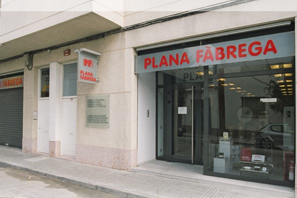 Plana Fàbrega Vilafranca