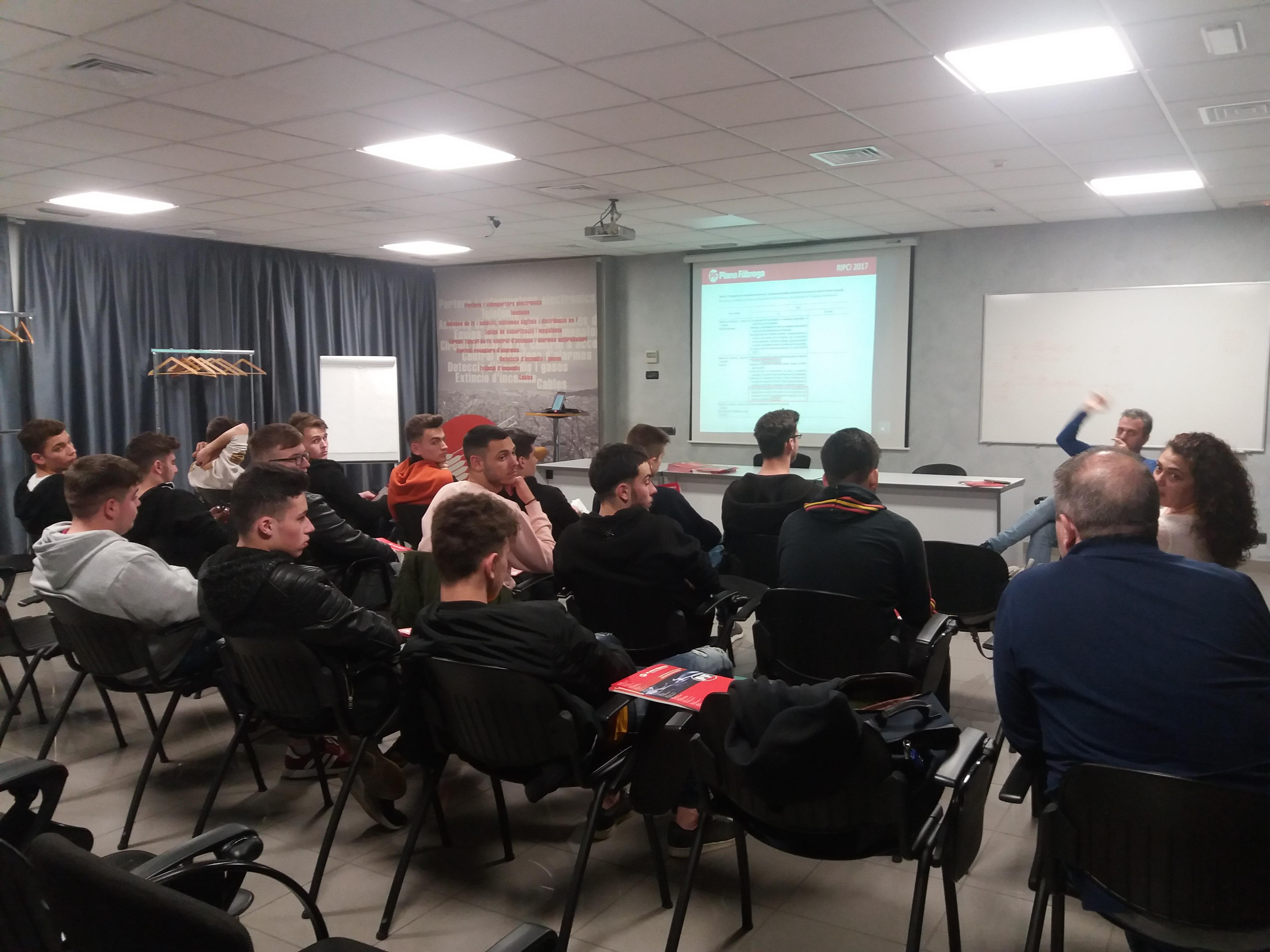 Estudiantes de FP Erasmus Plus Europeus - AEMIFESA y Plana Fàbrega