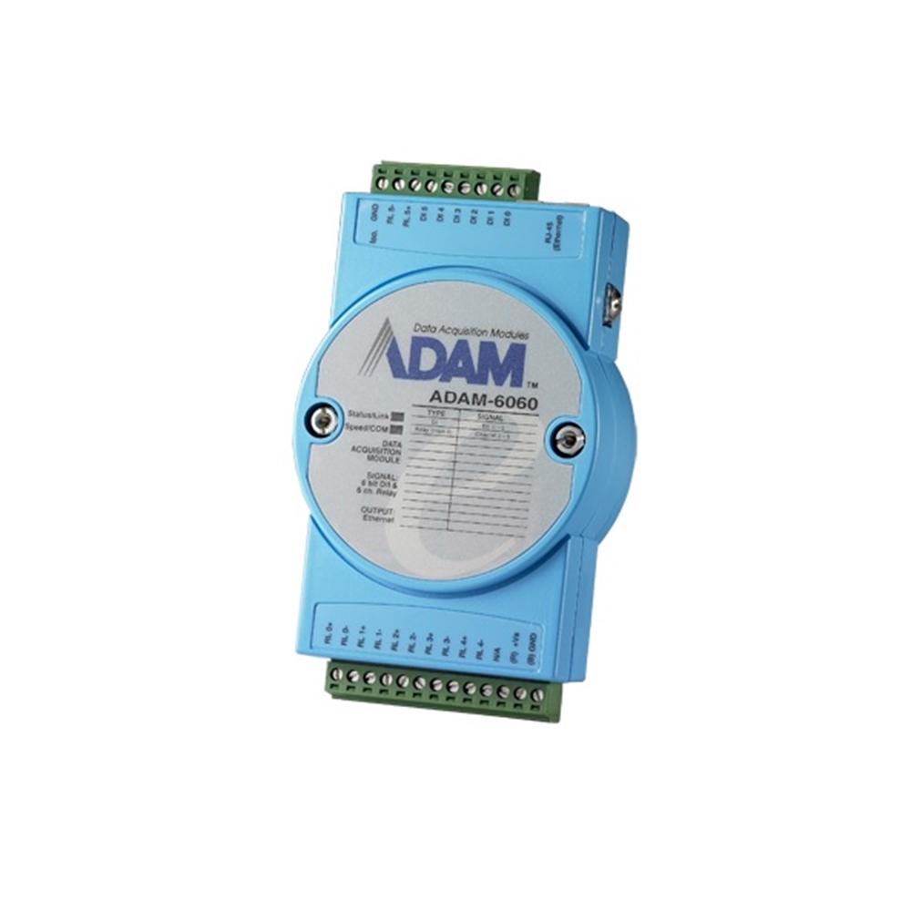 Mòdul ADAM de 6 entrades digitals i 6 sortides de relé, comunicació TCP / IP