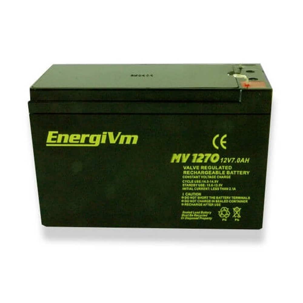 Bateria 12V 7Ah. - Item8