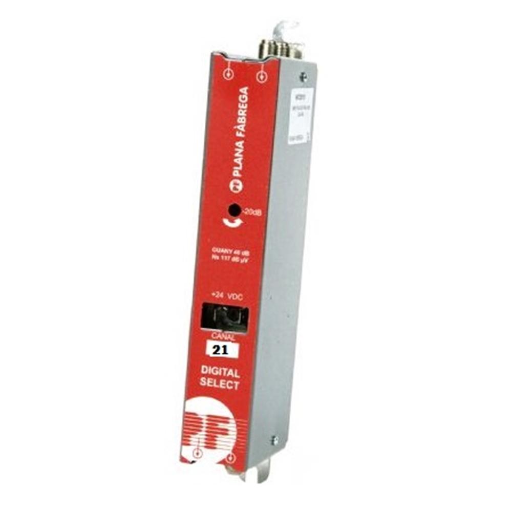Amplificador Monocanal UHF50dB DSA54 LTE
