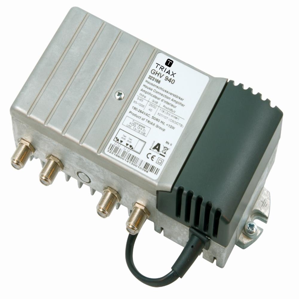 Amplificador de linea GHV-940. 47 - 1006 MHz. 40 dB.