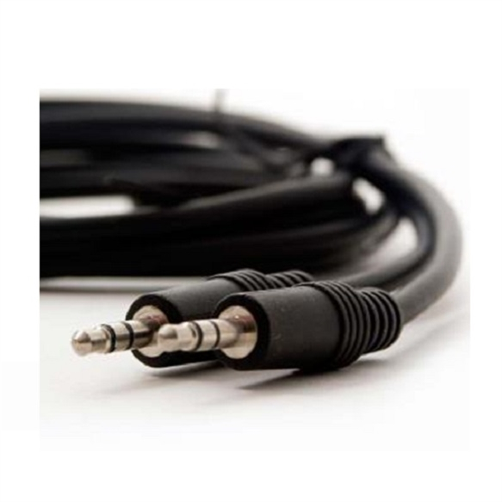 Cable audio minijack 3,5mm M-M. 20m