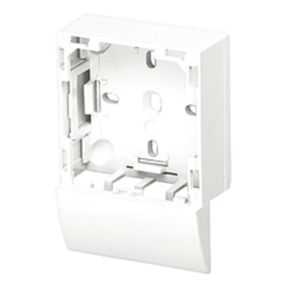 Adaptador lateral Sèrie 47 per canal 16X10 blanc