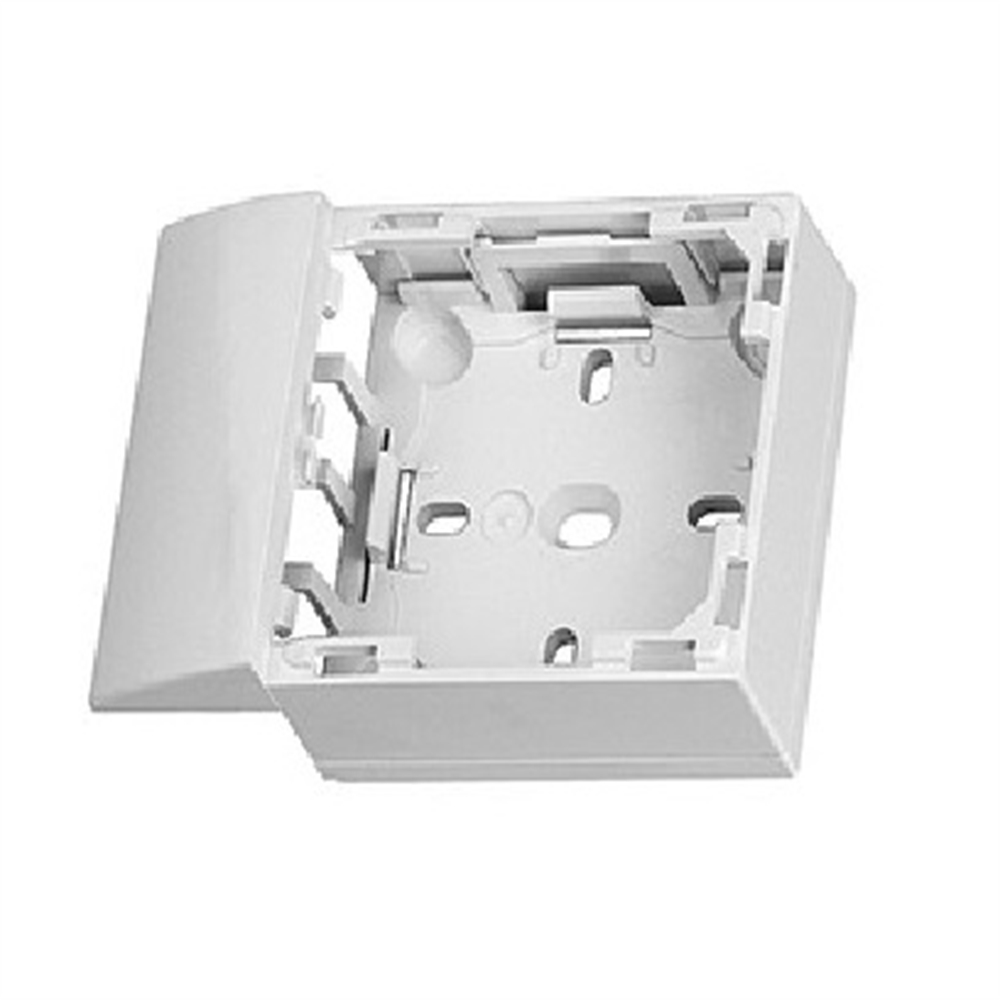 Adaptador lateral Serie 47 per canal 32X16 blanc